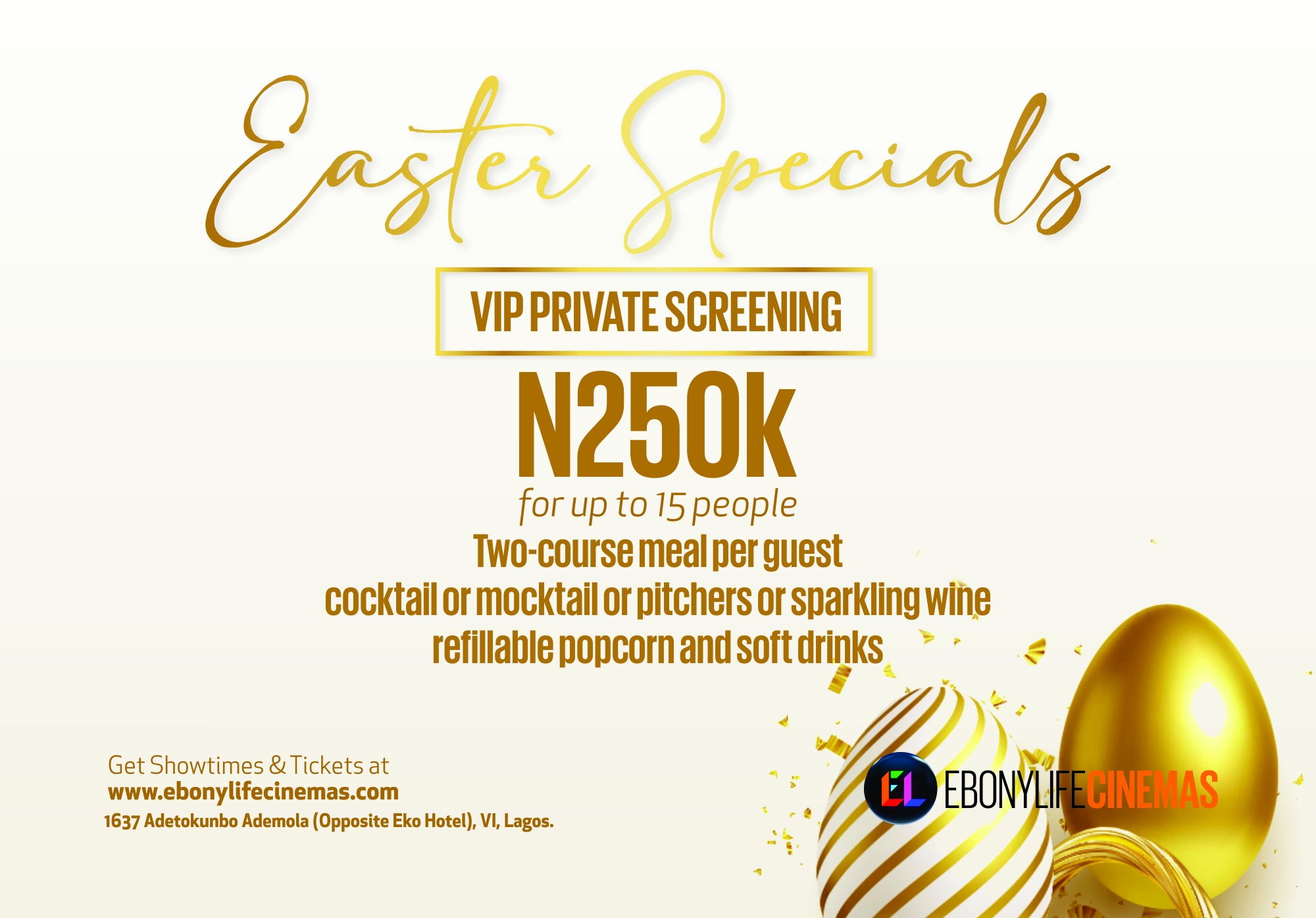 Easter Special VIP Private Screening